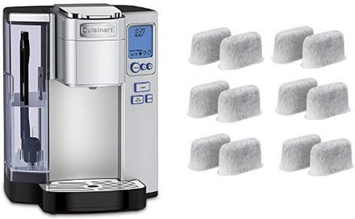Charcoal Water Filter For Cuisinart Coffee Maker Replacement For Coffee Machines