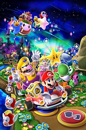 "Price comparison product image CGC Huge Poster - Mario Party 9 Nintendo Wii U - MAR029 (24"" x 36"" (61cm x 91.5cm))"