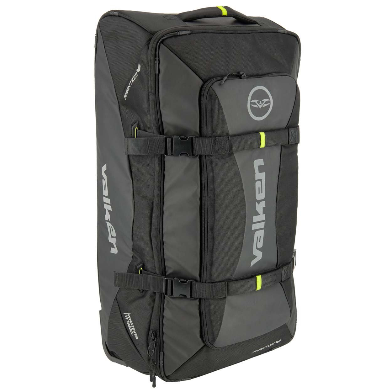 Valken Phantom Rolling Gear Bag Black