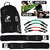 Kbands   Speed and Strength Leg Resistance Bands   Includes Speed 101 and Agility FX Digital Training Programs (User weight more than 110 lbs) Review