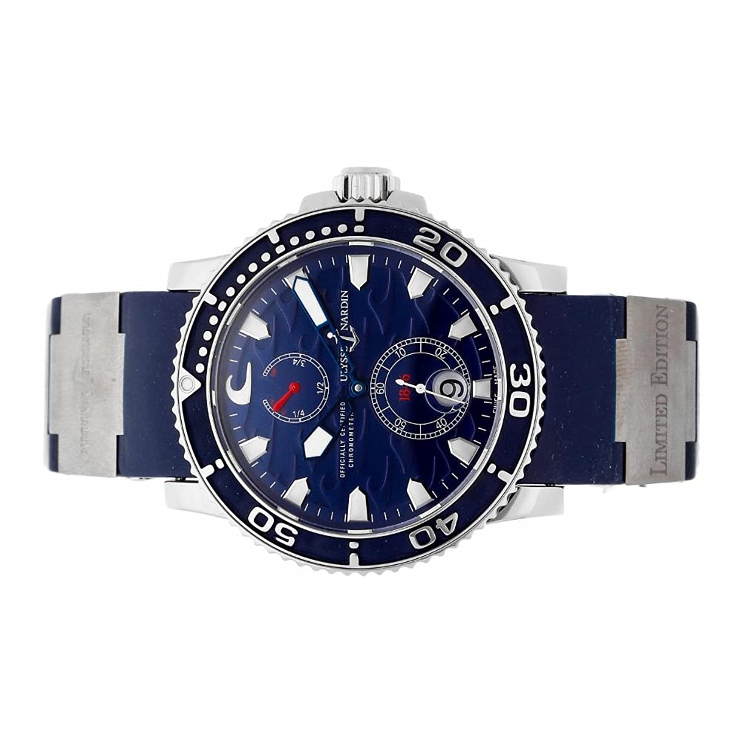 Amazon.com: Ulysse Nardin Maxi Marine automatic-self-wind mens Watch 263-36LE-3 (Certified Pre-owned): Ulysse Nardin: Watches
