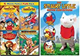 STUART LITTLE SET + An American Tail: The Treasure of Manhattan Island / An American Tail: The Mystery of the Night Monster / The Tale of Despereaux / The Adventures of Brer Rabbit Family 7 Movie Fun