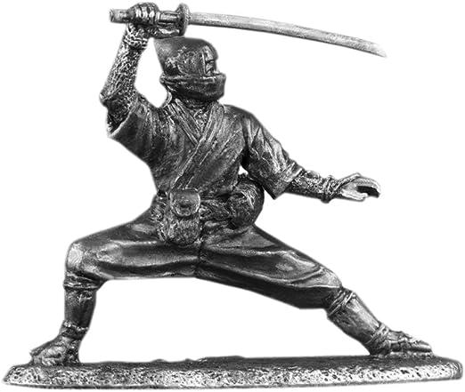 Amazon.com: Ronin Miniatures Ninja Shinobi UnPainted Tin ...