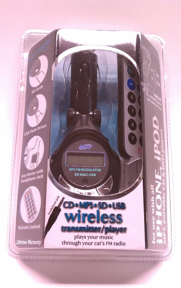 Wireless Gear USB Wireless Transmitter w// Remote IM513 Music Gear//ESI