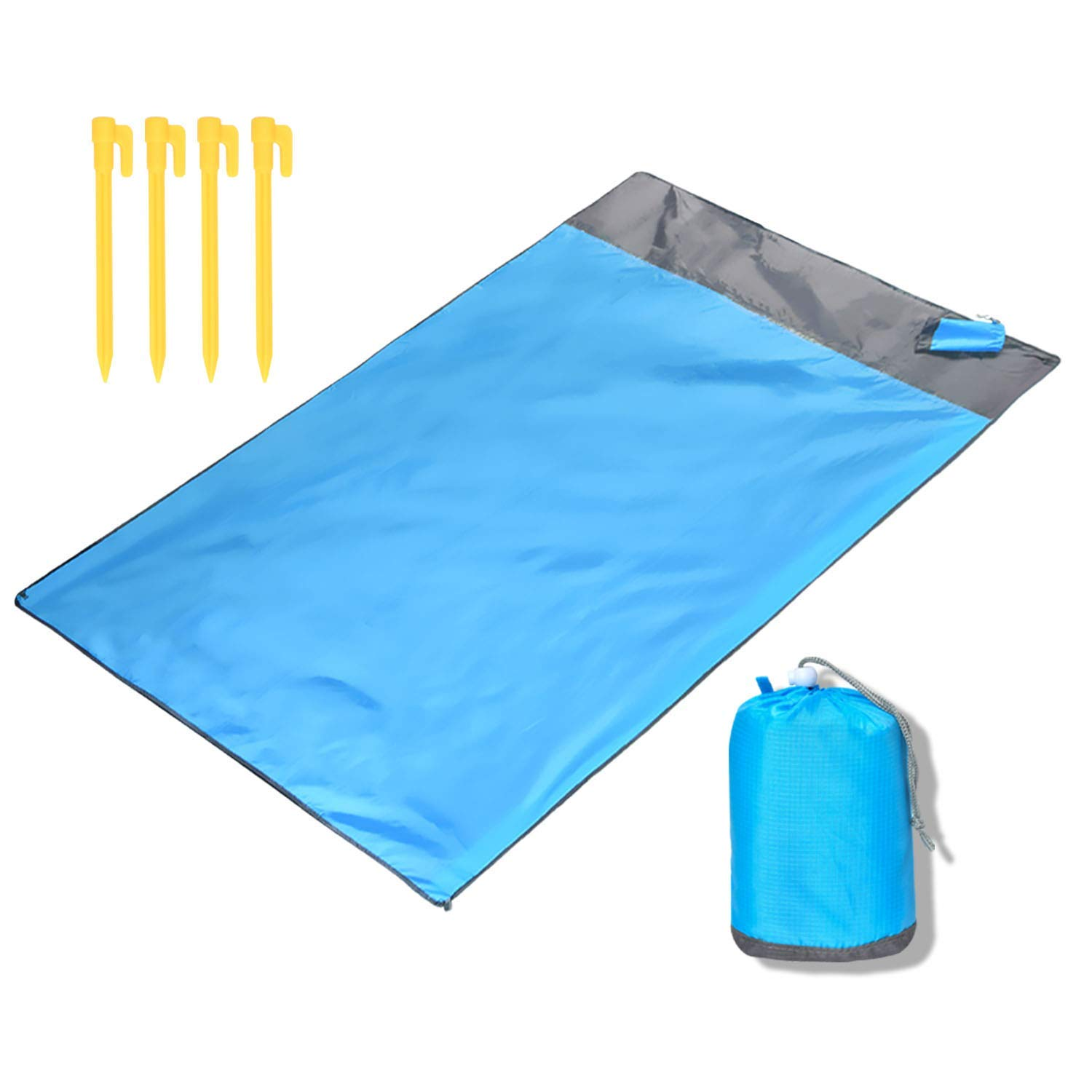 IUMÉ Waterproof Camping Tarp, Waterproof Picnic Mat, Multifunctional Tent Footprint with Drawstring Carrying Bag for Picnic, Hiking ... by IUMÉ
