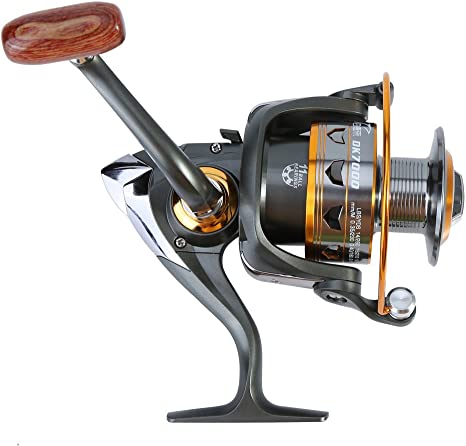 Spinning Carretes de pesca, metal anticorrosión Smooth casting Mar ...