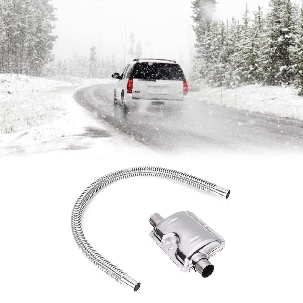 r/échauffeur dair Silencieux pour Air Diesel Chauffage tuyaux en Acier Inoxydable Stationnement Automatique Diesel gaz /à /évacuation Tuyau 120cm Parking Air Heater Tuyau d/échappement du r/éservoir