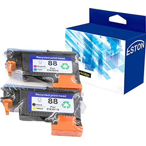 Amazon.com: Eston 2 Pack 88 Printhead Replacement para ...