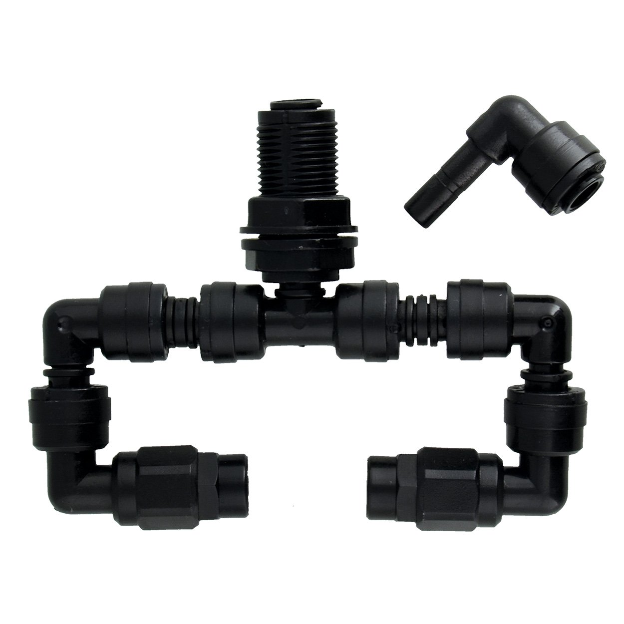 MistKing 22256 Double Misting Assembly Value L-Fitting+A1585 by MistKing