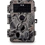 "Meidase Trail Camera 16MP 1080P, Game Camera with No Glow Night Vision Up to 65ft, 0.2s Trigger Time Motion Activated, Unique Keypad, 2.4"" Color Screen, Waterproof Wildlife Deer Hunting Cam"