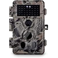 """Meidase Trail Camera 16MP 1080P, Game Camera with No Glow Night Vision Up to 65ft, 0.2s Trigger Time Motion Activated, Unique Keypad, 2.4"""" Color Screen, Waterproof Wildlife Deer Hunting Cam"""
