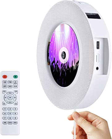 Portable Cd Player Bluetooth Desk Stand Wall Mounted Cd Elektronik