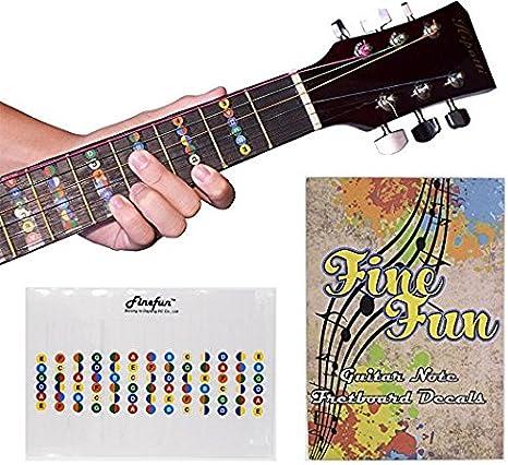 finefun 100% vinilo impermeable y prueba de aceite guitarra ...