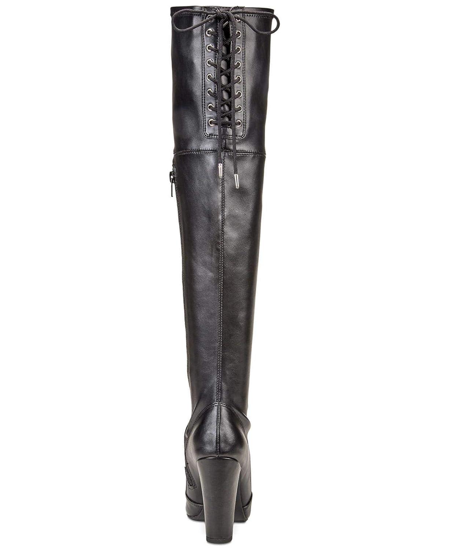 Material Girl Womens Priyanka Closed Toe Over Knee Fashion Boots