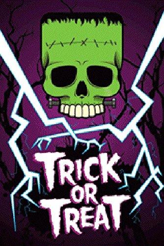 Halloween - Trick or Treat Glow in the Dark Poster