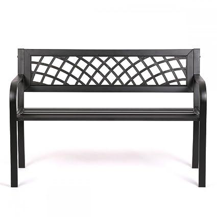 Strange Amazon Com Tumsun Patio Park Garden Bench Porch Path Chair Ibusinesslaw Wood Chair Design Ideas Ibusinesslaworg