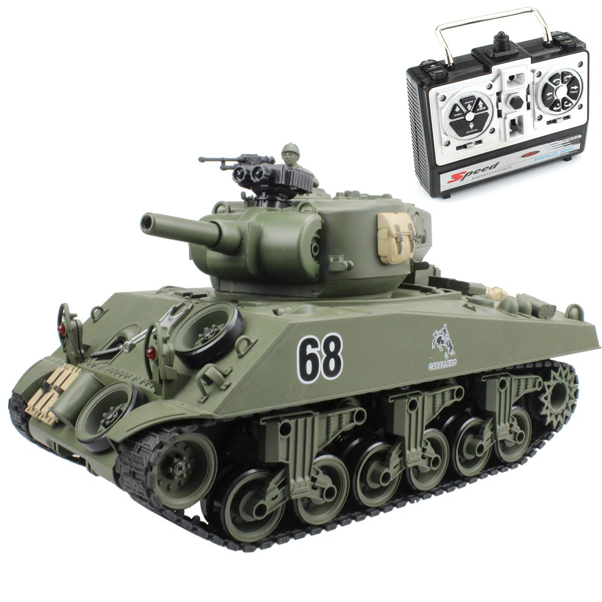 Top 9 Best Remote Control Tanks Battle Reviews in 2020 6