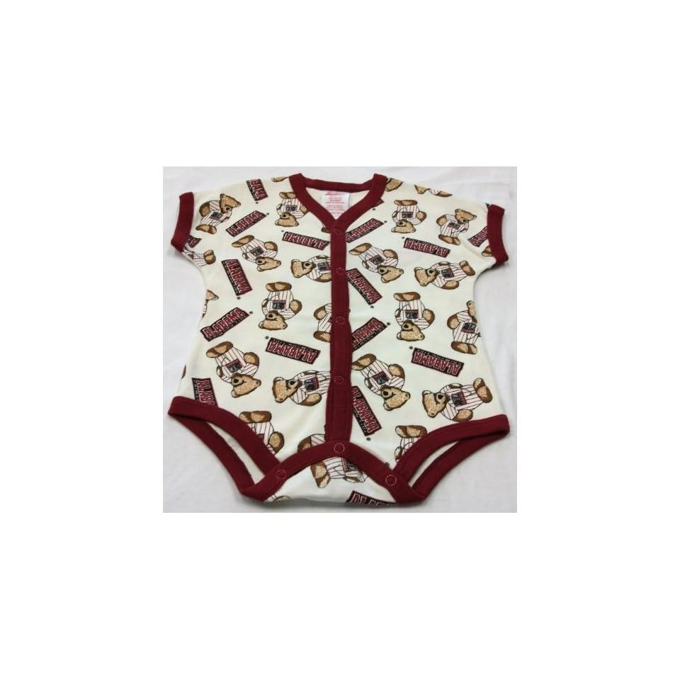 Alabama Crimson Tide Baby / Infant Teddy Bear Onesie