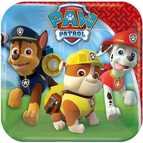 "Paw Patrol 7"" Dessert Plates 8ct"
