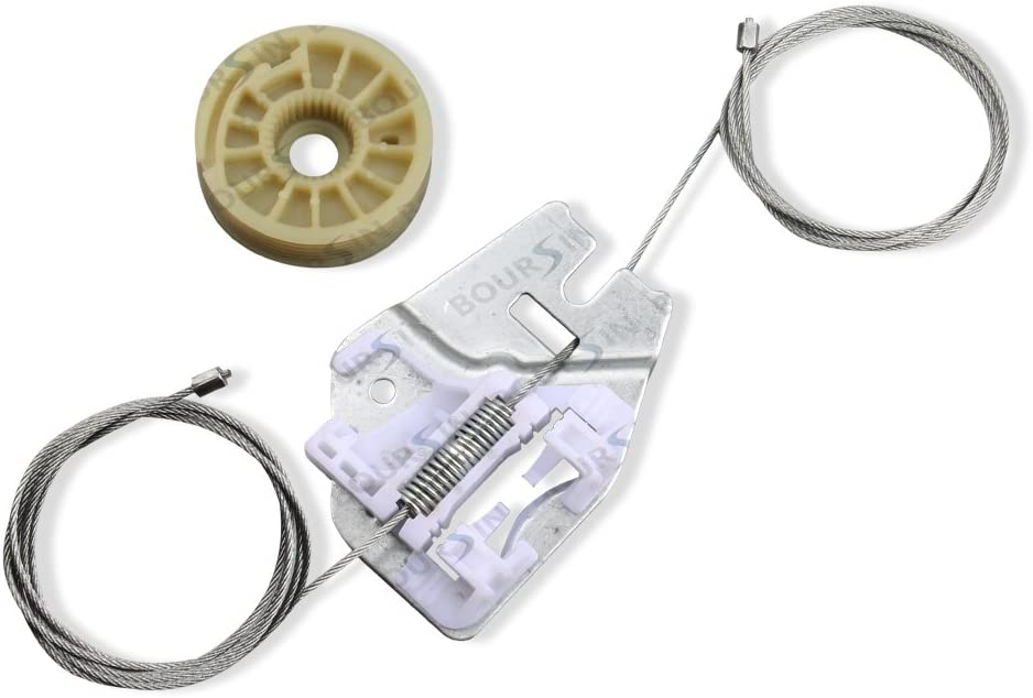 Metal Window Regulator Repair kit Fit 2000-2006 BMW X5 E53 Rear Left Driver Side