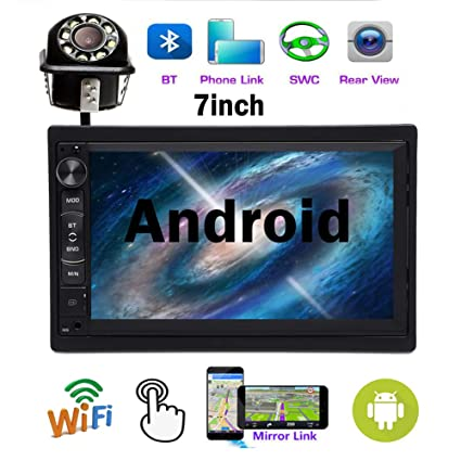 7/'/' Touch Screen GPS Navigation Bluetooth Stereo MP3//USB//AUX Radio MP5 Player