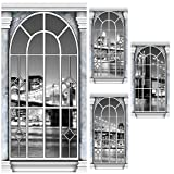 New York Skyline Window Standee Set