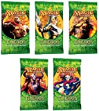 Best Wizards of the Coast 10 Year Old Toys - Magic the Gathering Theros LOT OF 5 Booster Review