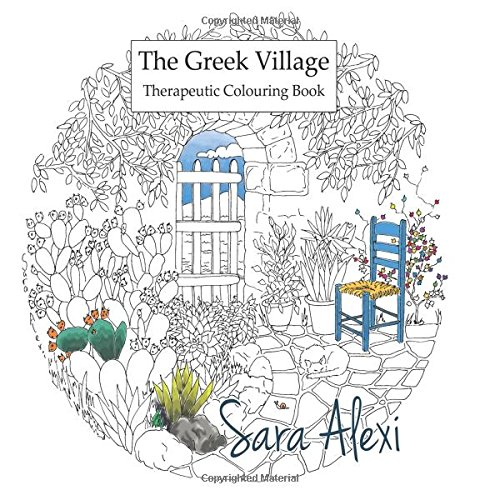 Village Coloring Book - 6