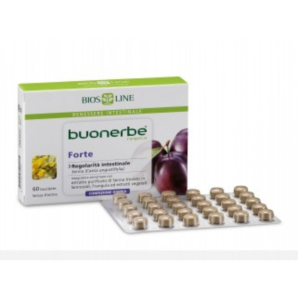 Bios Line Buonerbe Rule Forte Food Supplement 60 Tablets