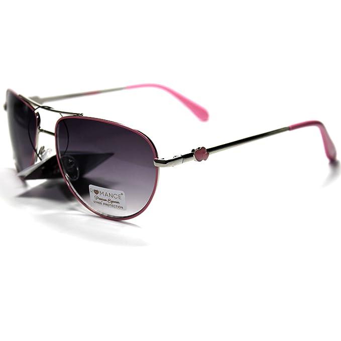 RO1-S2 ROMANCE Eyewear Sexy Aviator Womens Sunglasses at ...
