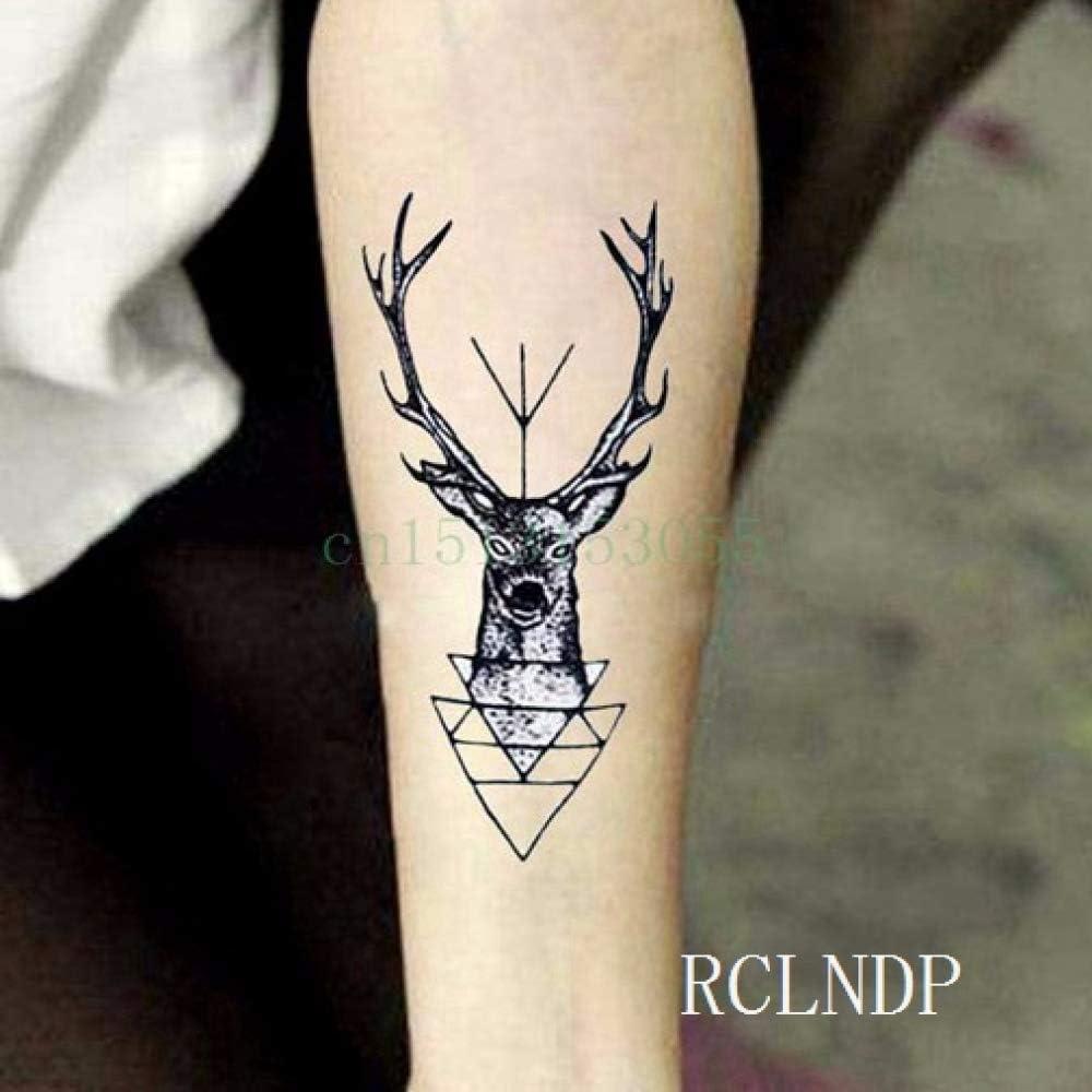 tzxdbh Etiqueta engomada del Tatuaje a Prueba de Agua geometría ...