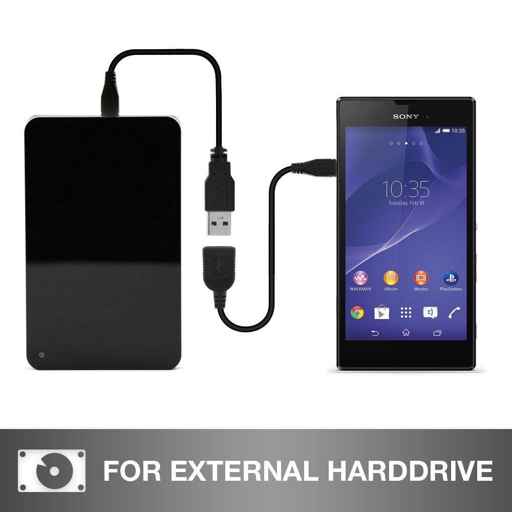 Cavo adattatore OTG USB 2.0 S2 S Tab 3 4 E Cavo USB per Samsung Galaxy Tab A