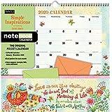 Simple Inspirations 2020 Pocket Wall Calendar