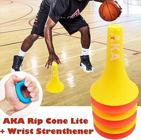 AKA Sports Gear Rip Cone Lite + fortalecedor de muñeca | (6 Conos ...