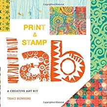 PRINT STAMP LAB 52 IDEAS FOR HANDMADE UPCYCLED PRINT TOOLS LAB By Bunkers NEW