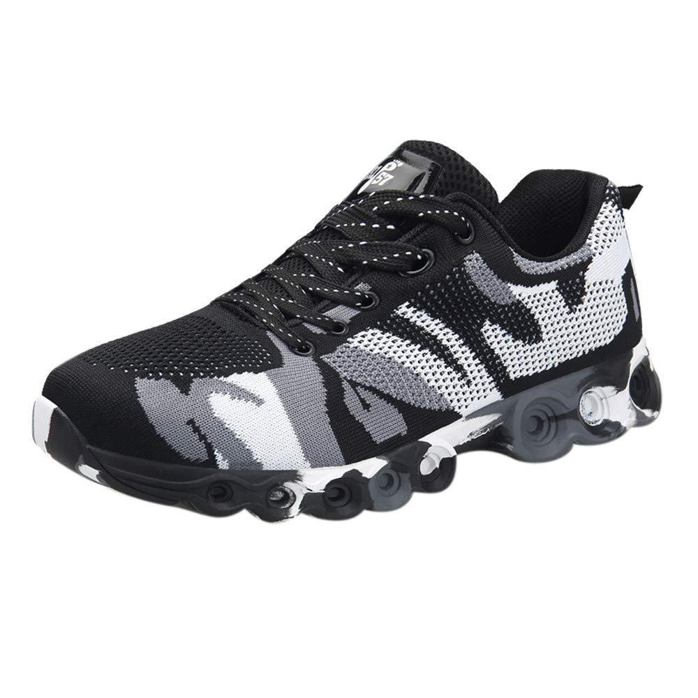 Dacawin Fashion Casual Men Camouflage Shoes Comfortable Soft Sneaker Non-Slip Running Shoes by Dacawin