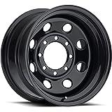 "Pacer 297B SOFT 8 BLACK Black Wheel (15x8""/5x4.5"", -12mm Offset)"