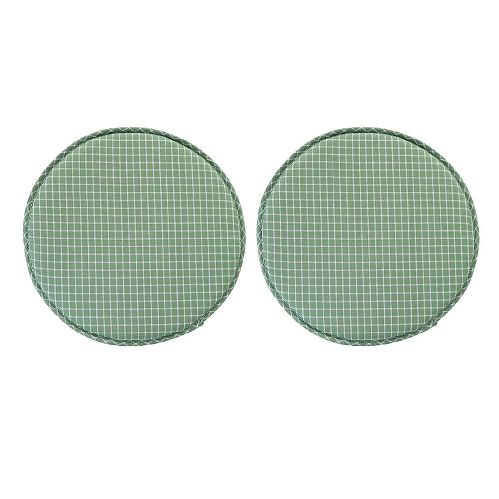 TMJJ Round Stool Bar Pad Soft Sponge Seat Pad,Diametre 13'', Pack of 2