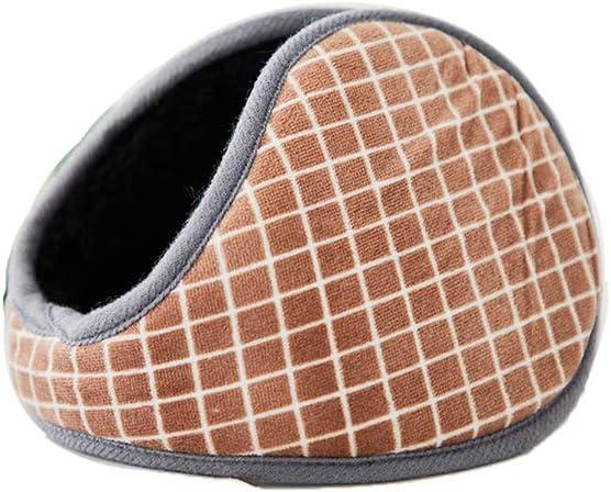 Bacekounefly Warm Earmuffs Unisex Behind The Head Ear Cuffs Winter Outdoor Ear Warmers