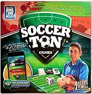 Soccerton Trivia de Fútbol con Realidad Aumentada, Edición Limitada Jorge Campos, Juego de Mesa (2 - 6 Jugador