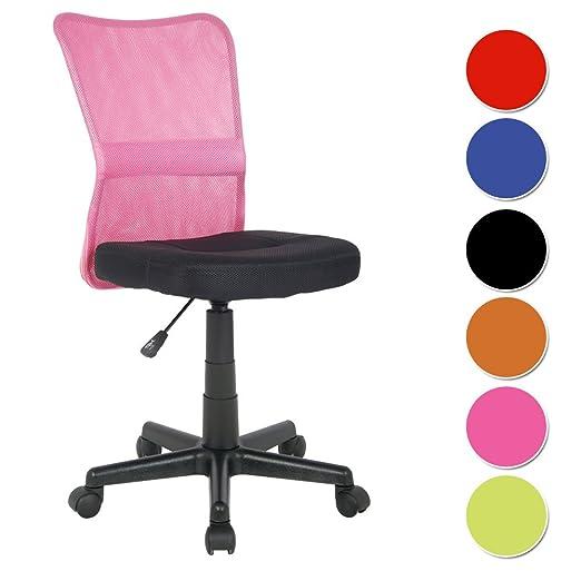 238 opinioni per SixBros. Sedia ufficio sedia girevole fuchsia/nero- H-298F/2110