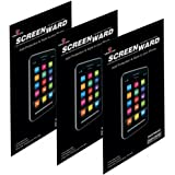 Xperia Z1 C6902 Screen protector Scratch Guard Front+Back (Pack of 3) Clear Screen Protector Without Rainbow effect For Sony Xperia Z1 C6902