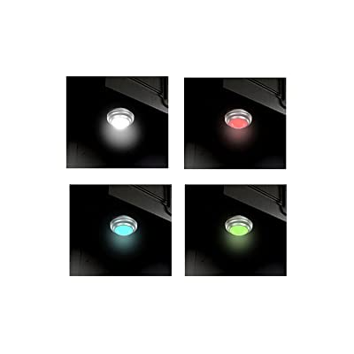 Honeywell Six Color-Changing Lights Great for Accent Lighting Dim and Change Lighting from The Remote Control Timable 18 AA Batteries Included : Garden & Outdoor