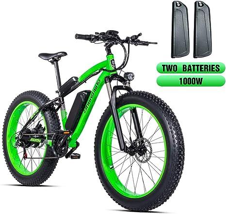 Shengmilo-MX02 26 Pulgadas Bicicleta eléctrica neumático Gordo de ...