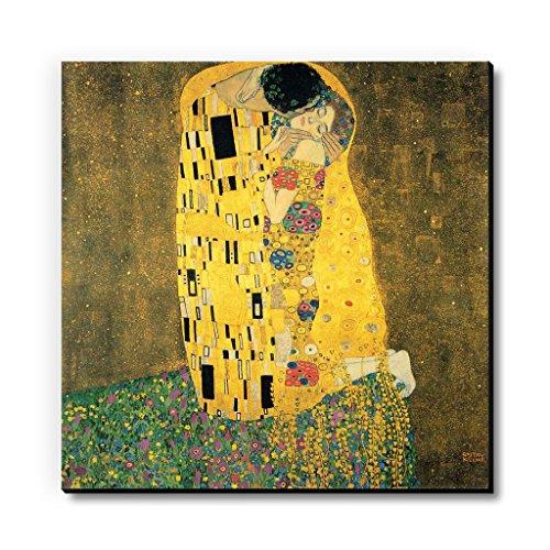 Seven Rays MDF The Kiss by Gustav Klimt Fridge/Multipurpose Magnet  Multicolour