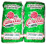 Camellia Brand Green Baby Lima Beans - Dry Bean, 1 Pound Bag