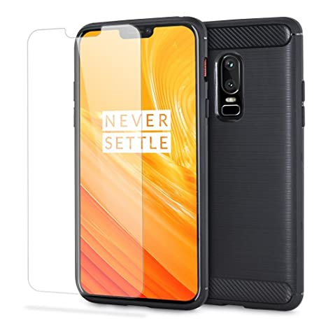new arrival e6532 2f251 Olixar OnePlus 6 Case with Screen Protector- Sentinel - 360 Degree Full  Body Cover - Edge to Edge Tempered Glass - Front & Back Tough Rugged ...
