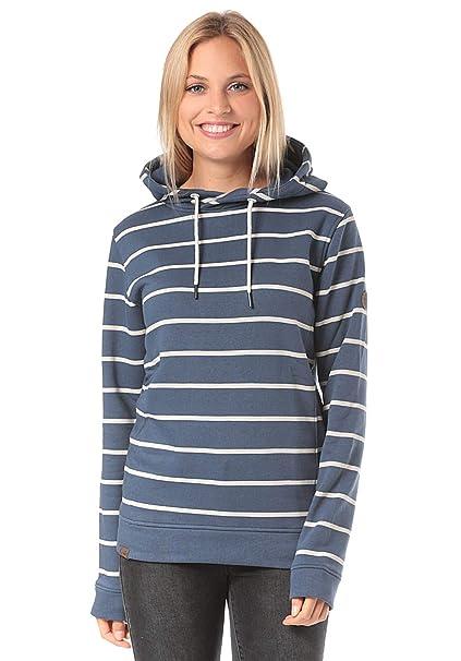 Lakeville Mountain Damen-Hoodie MARA Striped   Urbaner Pullover mit Kapuze   Amazon.de  Bekleidung 8dbc6064e9