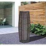 Outsunny-Garden-Patio-Rattan-Lamp-Wicker-Outdoor-Solar-Powered-LED-Coffee-78cm