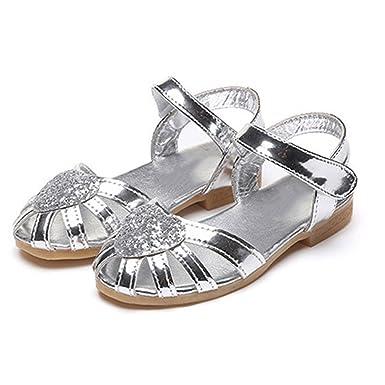 Kinder Madchen Sandalen Fusse Sommer Kinder Madchen Hochzeit Schuhe